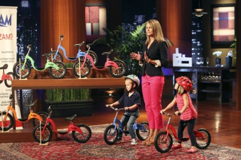 KAZAM GREAT PUSH/BALANCE BICYCLE ON SHARK TANK