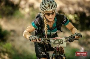 Hot Mountain Bicycle Girl