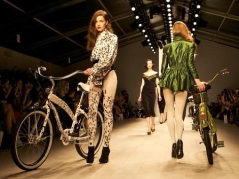 Jamis Bicycle Fashion Show