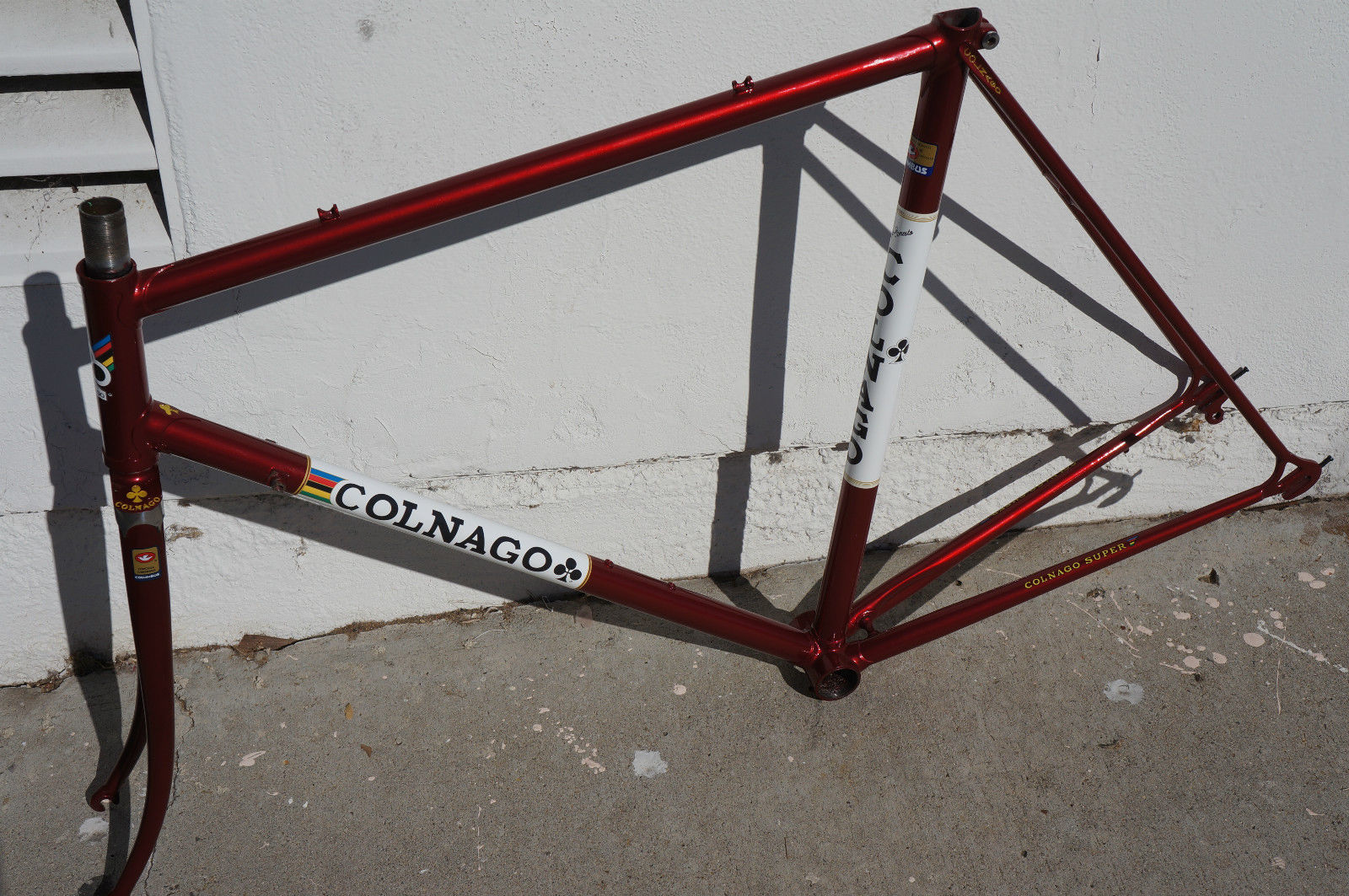 Colnago Super Vintage Frame For Sale Pedalpusher