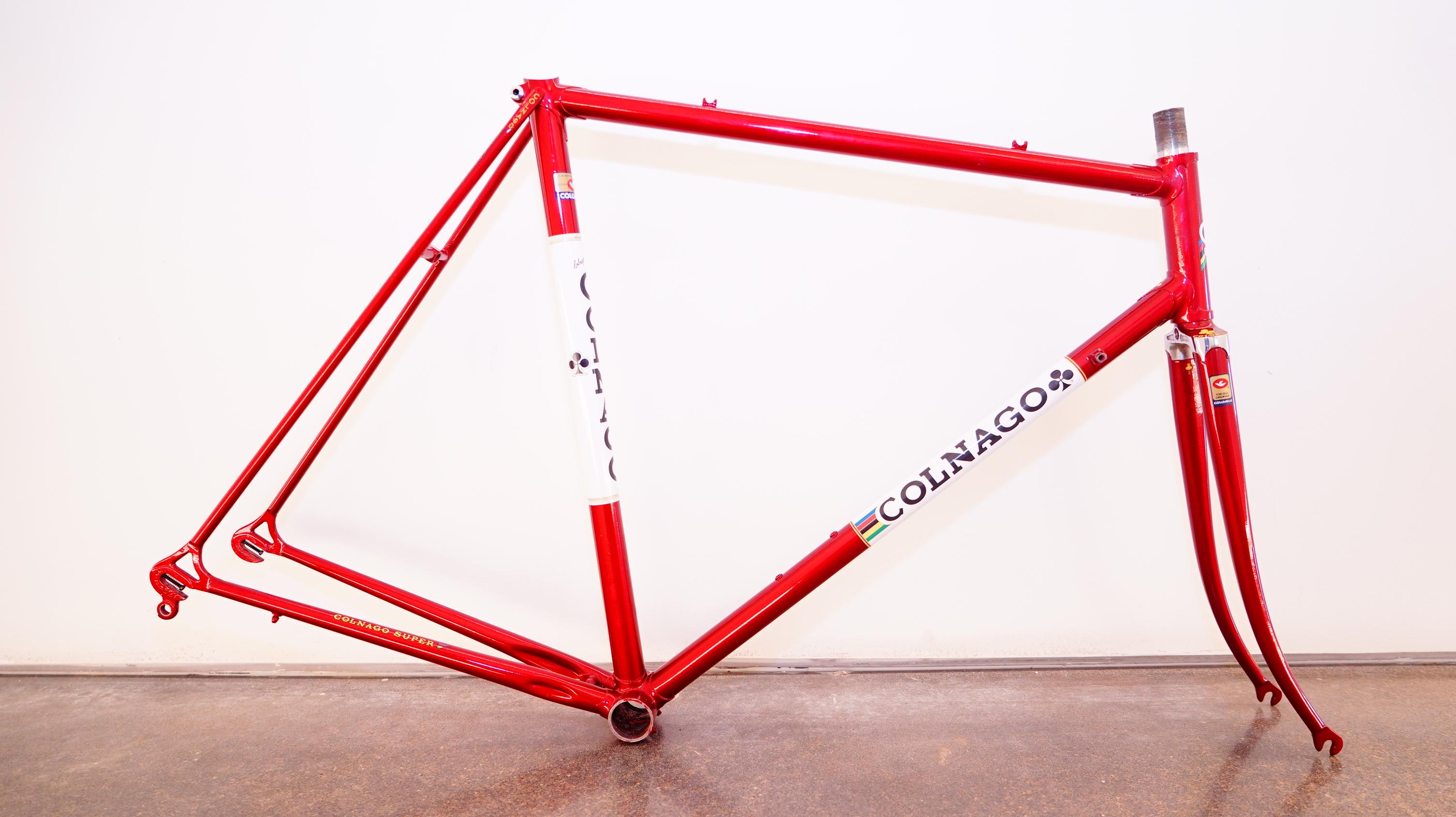 Colnago Super 57! Vintage Road Racing Bicycle! | pedalpusher