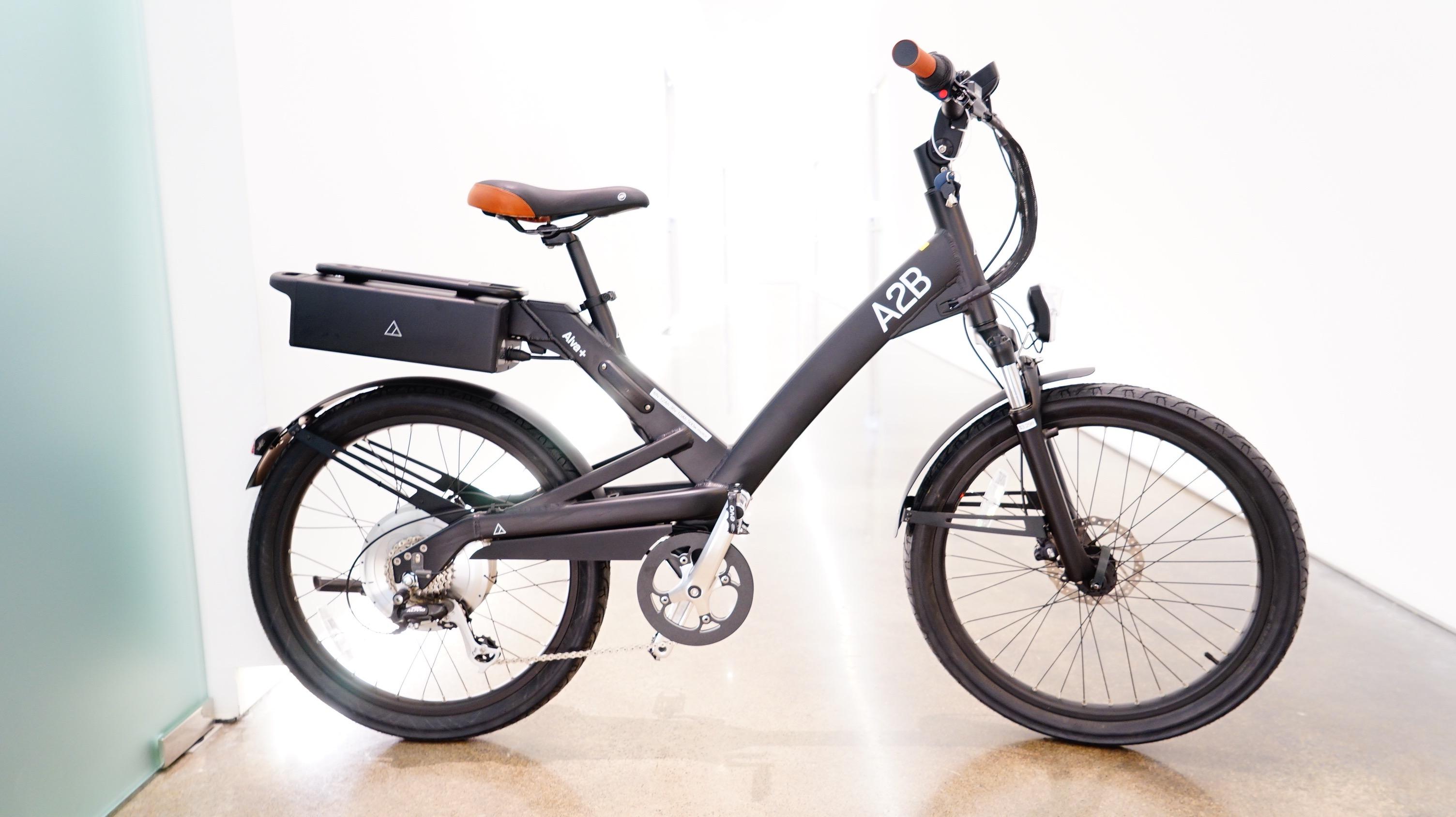 A2b Electric Bike >> Alva A2b E Bike Electric Bicycle Pedalpusher